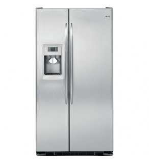 Ge 23 Cu.Ft Pce23Tgxf-Ss Sid By Side Refrigerator 61 Cm Depth 220 Volts