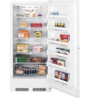 GE FUG21DBRWW Upright Freezer 21 Cu Ft 220 Volts