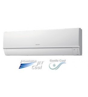 Sharp 18,000 BTU Air Conditioner with Powerful Jet & Gentle cool mode 220 Volts