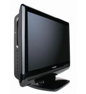 "Toshiba 22SLDT2 22"" Multi-System LCD TV with Region Free PAL NTSC DVD Player"