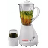 Nikai blender with glas jug and mill attachment 220 Volts only