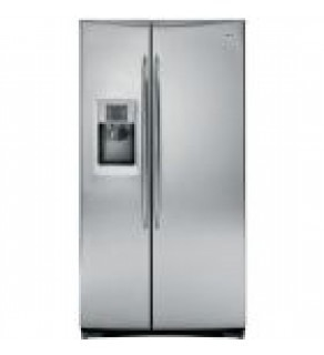 Ge 27 Cu. Ft. Pse27Vgxt Side By Side Refrigerator 220 Volts