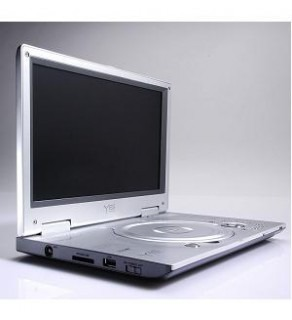 YES PDV-102 Code Free DVD PLAYER-PLAYS ANY DVD FROM ANYWHERE IN THE WORLD WITH PAL TV TUNER