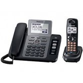 Panasonic KX-TG9471B 2-line Cordless Phone with Contact Sync with 2 Handsets FOR 110-220 VOLTS