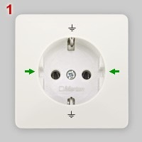 type of schuko plug