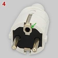 type 4 schuko plug
