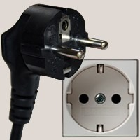 type e power outlet