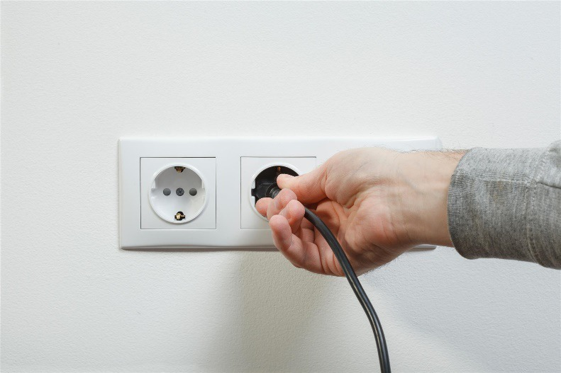 Foreign Wall Outlet