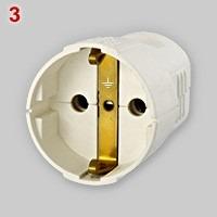 type 3 schuko plug