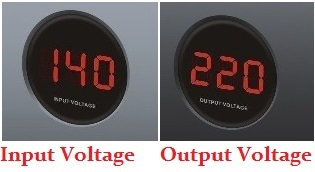 Input Voltage Output Voltage