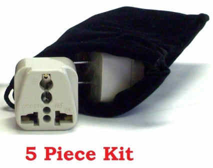 Worldwide Plug Adapter Kit